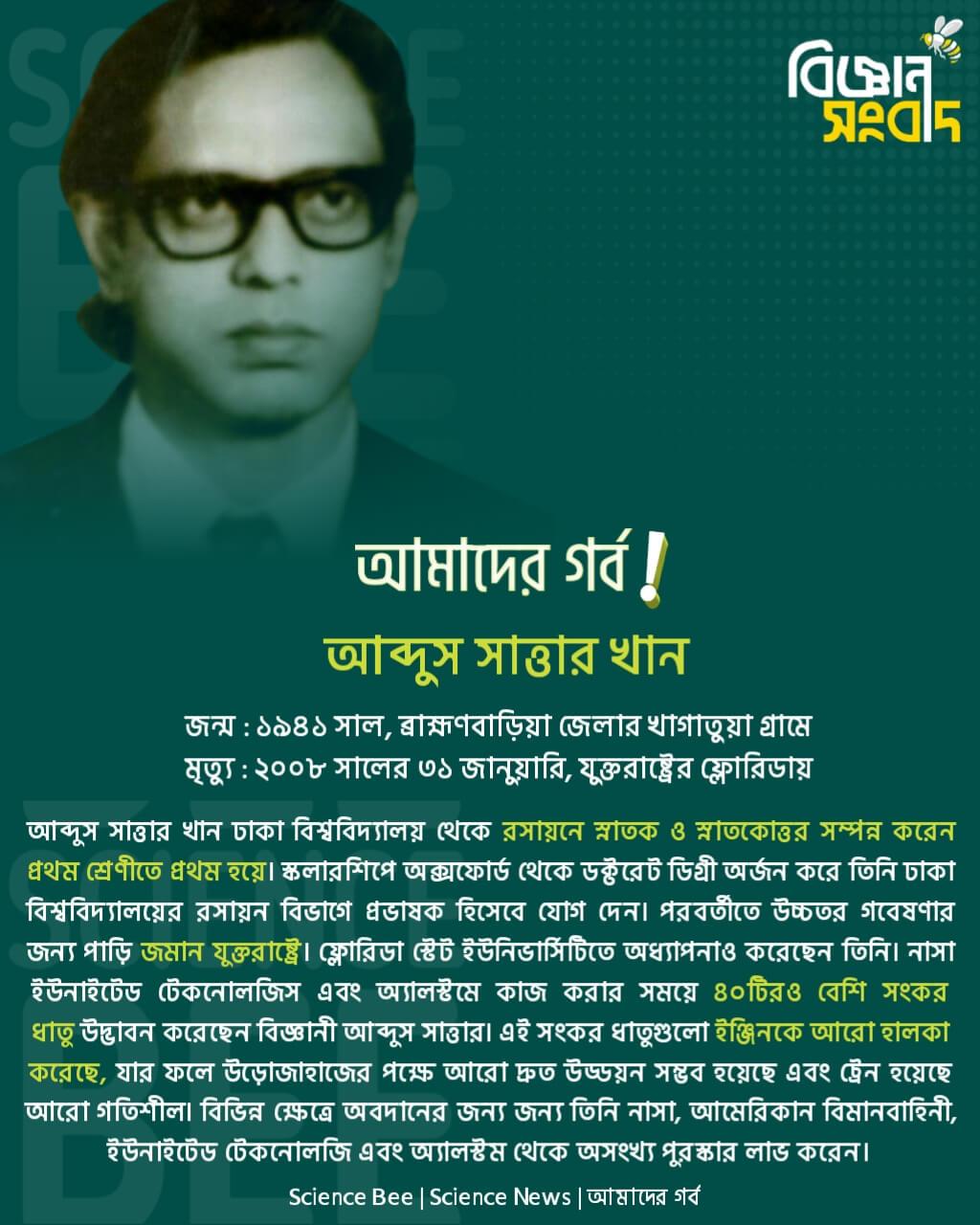 আবদুস সাত্তার খান